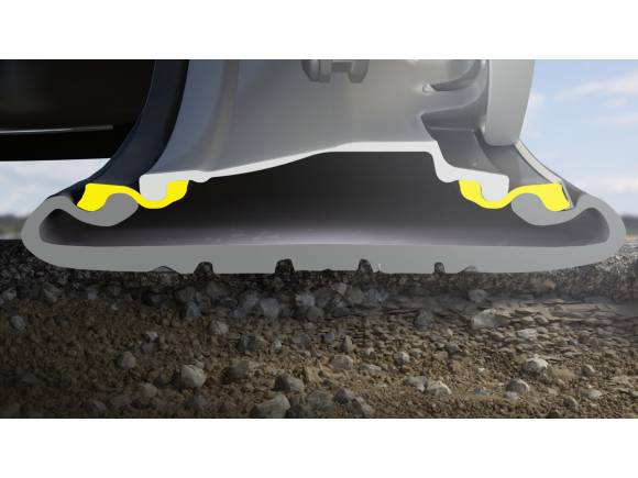"""Michelin Acorus: la rueda """"anti-baches"""""""