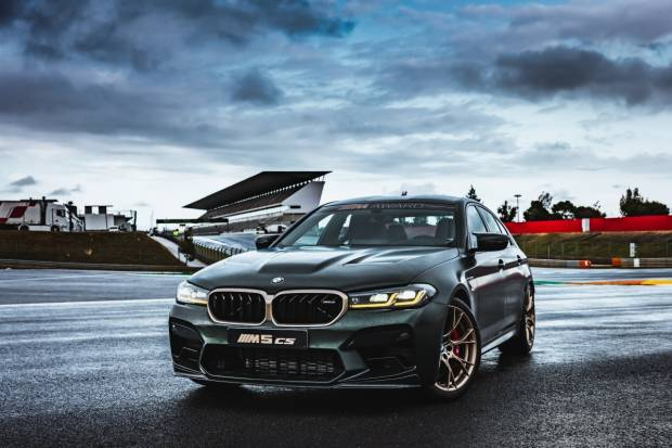 El BMW M5 CS, el coche más potente jamás creado por la marca,  ya tiene precio