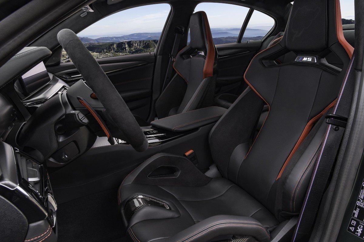 El BMW M5 CS