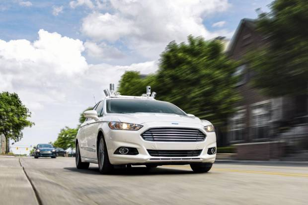 Ford anuncia su coche autónomo para 2021