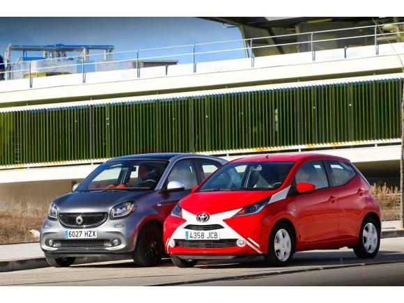 Comparativa: Toyota Aygo contra smart forfour