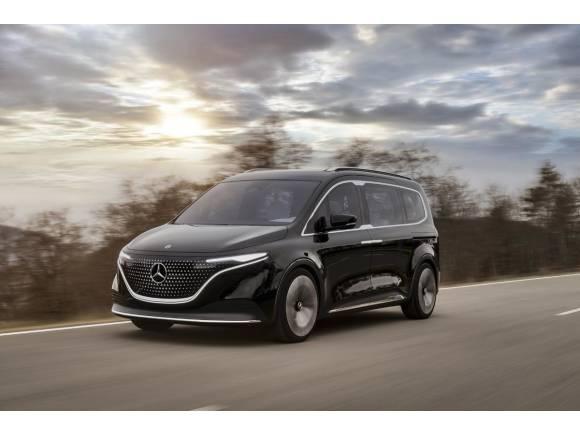 Mercedes Concept EQT: el monovolumen eléctrico del Clase T