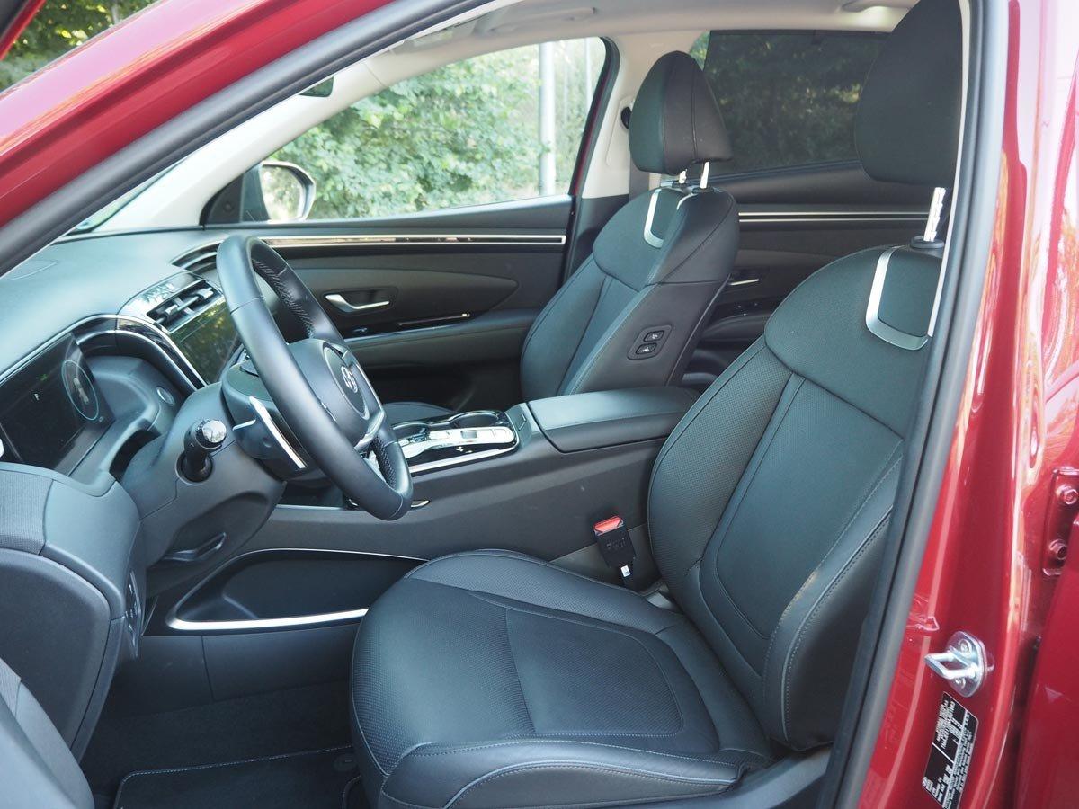 Prueba Hyundai Tucson HEV