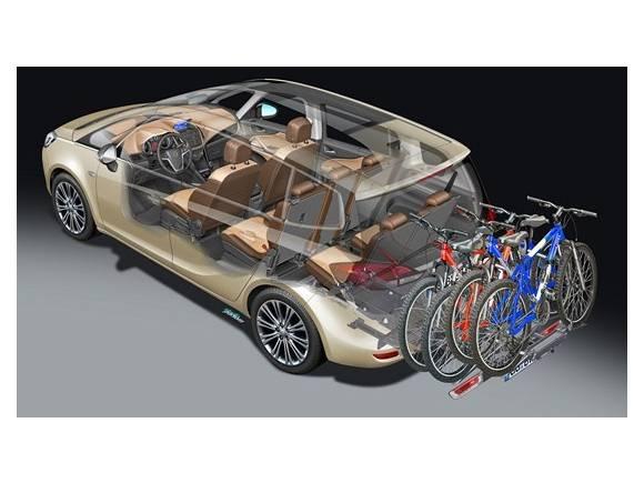 Opel FlexFix o cómo transportar bicis de forma cómoda, rápida y segura.