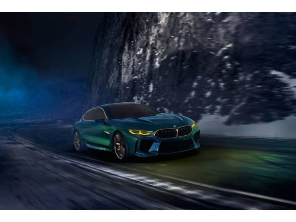 BMW M8 Gran Coupé Concept, otro anticipo de la Serie 8