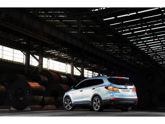 Hyundai Grand Santa Fe, la versión larga del SUV de Hyundai