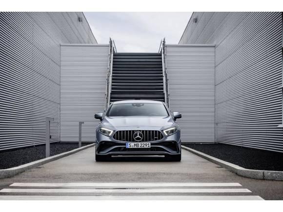 Nuevo Mercedes CLS: pequeños retoques antes de su adiós