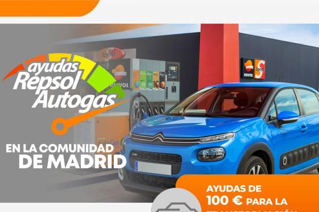 ASTRAVE y Repsol te regalan 250 euros por convertir tu coche a AutoGas