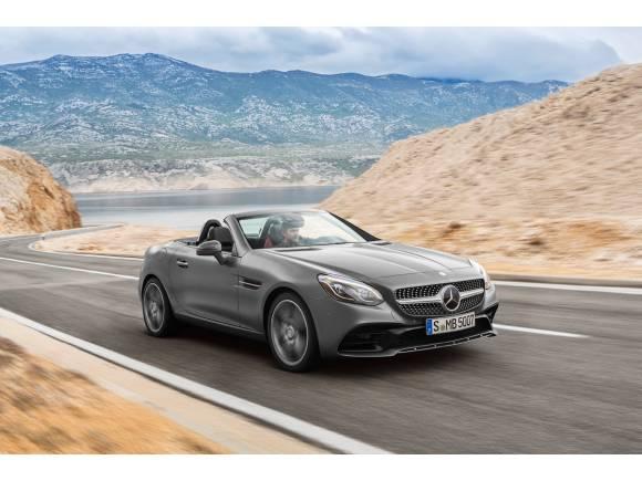 Nuevo Mercedes SLC, el roadster cambia de nombre
