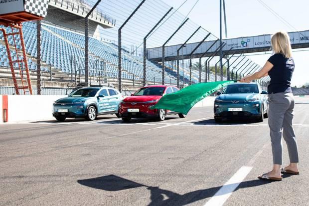 Récord de autonomía: Hyundai consigue recorrer más de 1.000 km con un Kona eléctrico