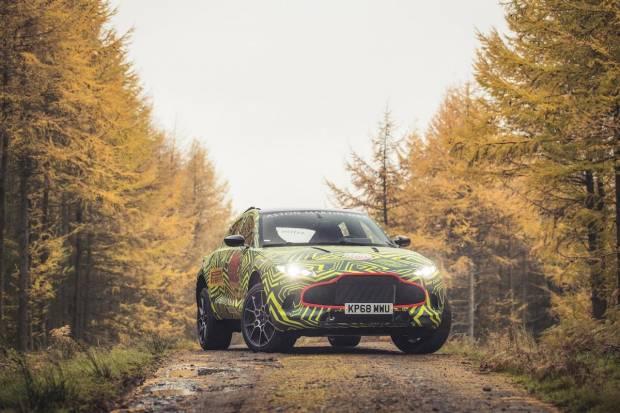 Aston Martin DBX, el SUV 4x4 de James Bond