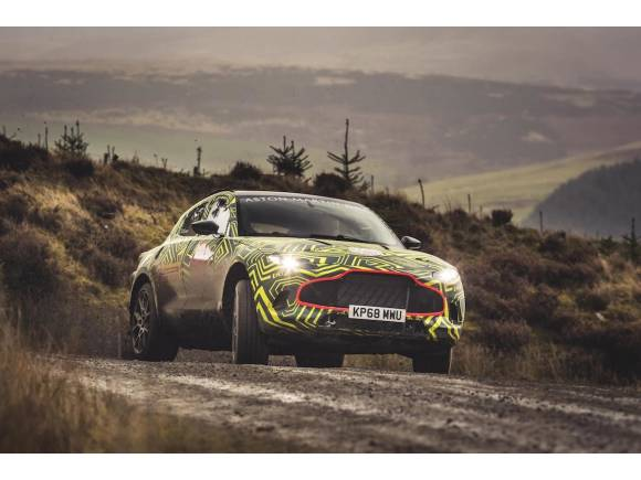 Aston Martin DBX, el SUV 4x4 de James Bond