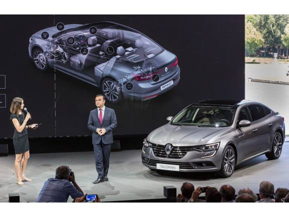 Nuevo Renault Talisman: el sustituto del Laguna llega en otoño