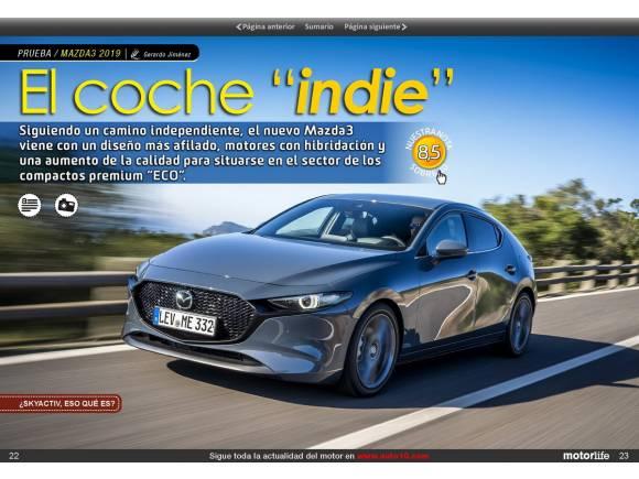 Motorlife Magazine 92: todos los coches con etiqueta ECO, probamos el Mazda3 y mucho más