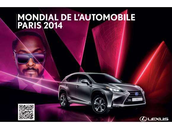 NX y RC F, modelos Lexus para el Salón de París