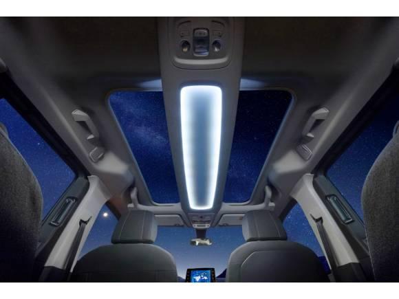 Mucha luminosidad con los techos panorámicos de Opel