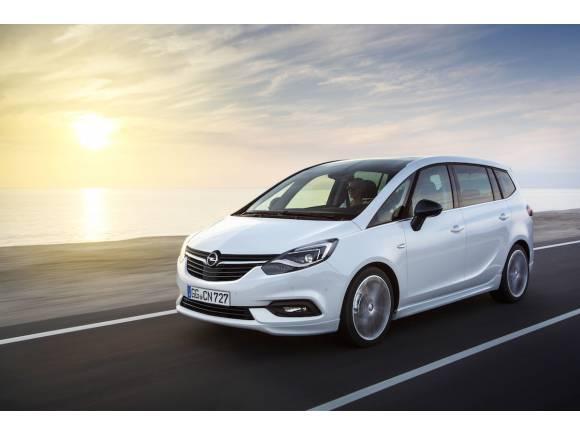 Nuevo Opel Zafira 2016: cambio de imagen y más conectividad
