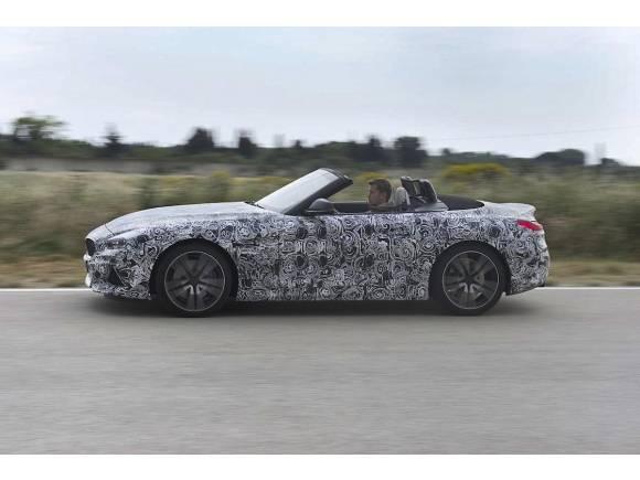 Nuevo BMW Z4, desvelado en versión camuflada antes de París