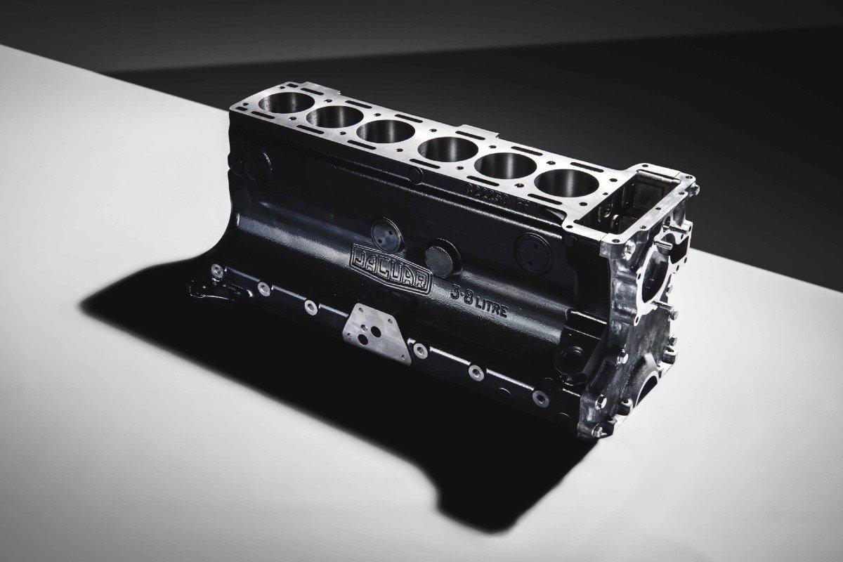 Motor XK Jaguar