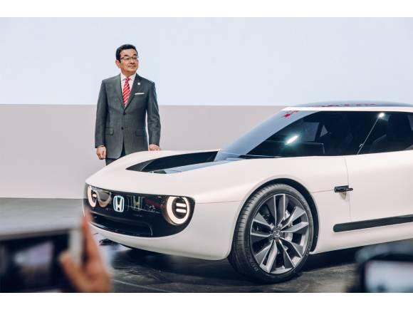 Honda Sports EV Concept, deportivo, eléctrico y retro