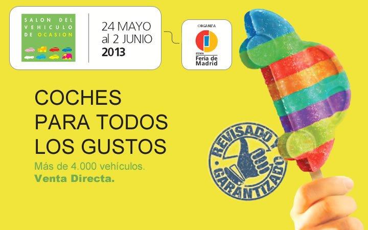 Salón del Vehículo de Ocasión de Madrid 2013