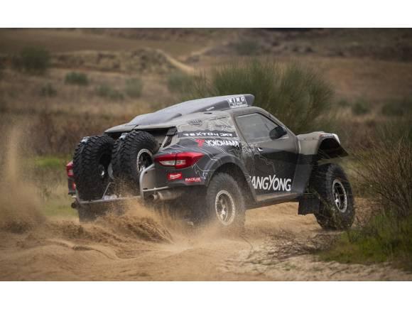 SsangYong España y Óscar Fuertes en el Dakar 2019