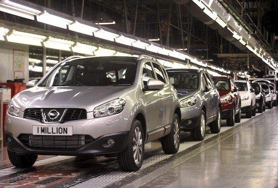 A un ritmo de 1.200 unidades al día, se ha superado el millón de Nissan Qashqai fabricados este año.