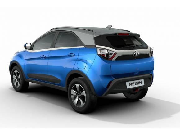 Tata muestra su nuevo SUV mediano, el Nexon