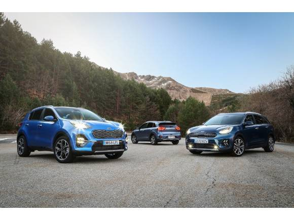 Gama SUV Híbrida de Kia : las claves y precios del Kia Niro y Kia Sportage