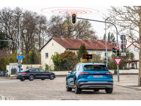 Audi Traffic Light Information: la tecnología que te ayudará a pillar menos semáforos