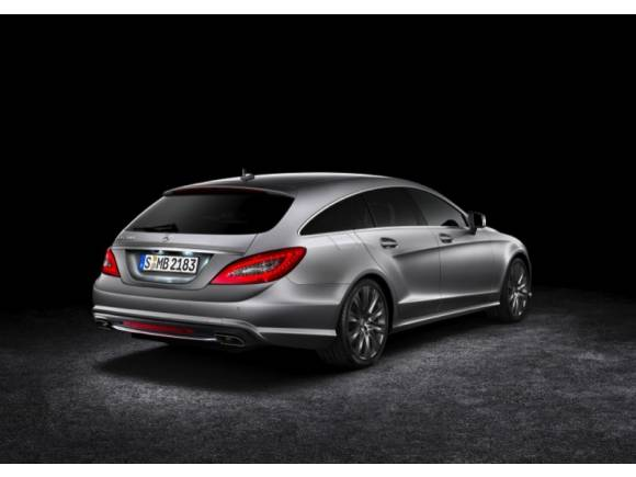 Mercedes CLS Shooting Brake: un coupé familiar