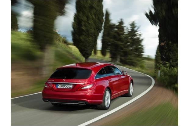 Mercedes CLS Shooting Brake: un coupé familiar