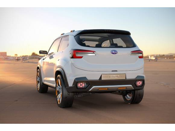 Subaru Viziv, un nuevo SUV concept para Tokio