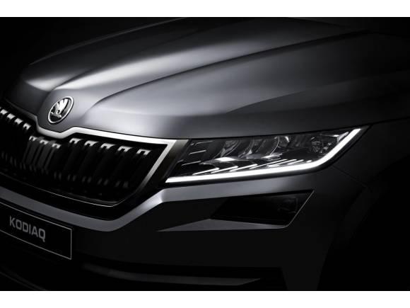 Nuevo Skoda Kodiaq: primeras imágenes oficiales y video del nuevo SUV de Skoda