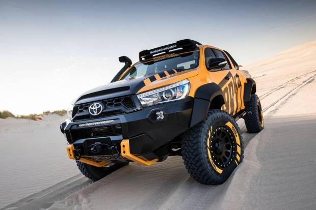 Toyota Hilux Tonka concept: el juguete de papá