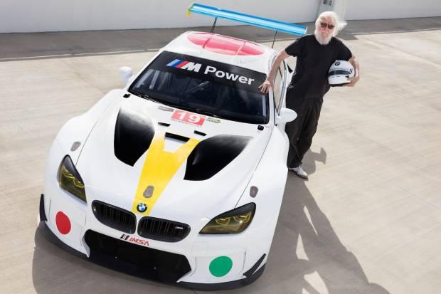 Nuevo BMW Art Car de John Baldessari, a partir de un M6 GTLM