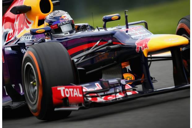 Fórmula 1 2013. Gran Premio de Bélgica: Alonso impecable, pero 7 puntos más con Vettel