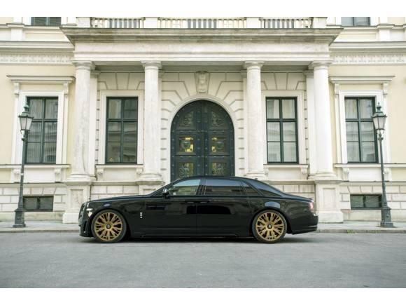 SPOFEC Black One, un Rolls Royce Ghost muy especial