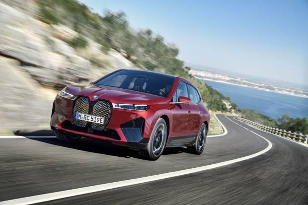 BMW iX: así será el segundo SUV eléctrico de BMW