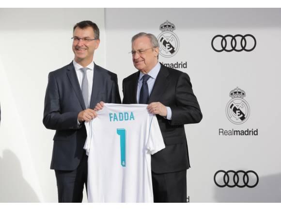 Audi entrega al Real Madrid sus nuevos coches