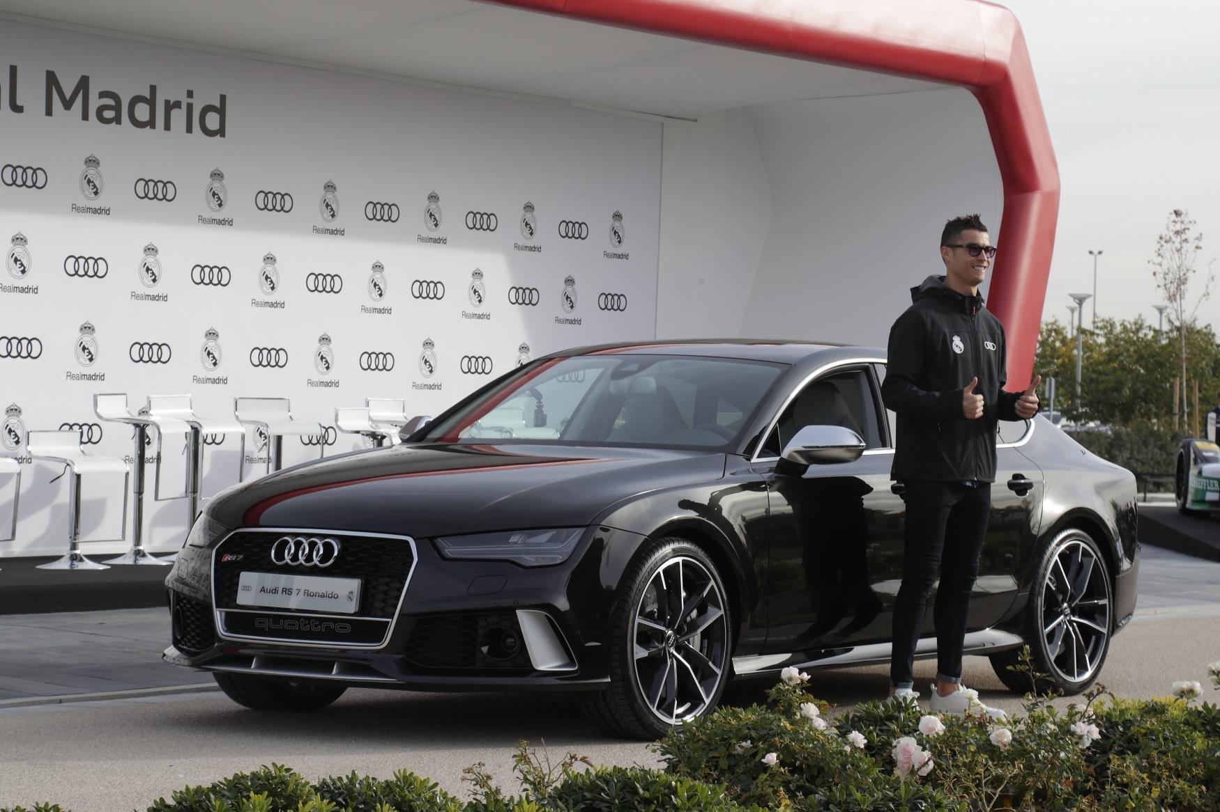 Cristiano Ronaldo Audi