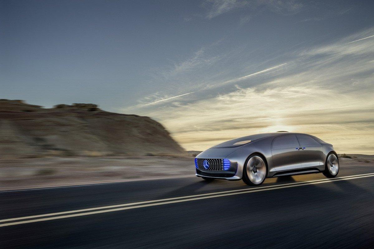 Mercedes F 05 Luxury in Motion