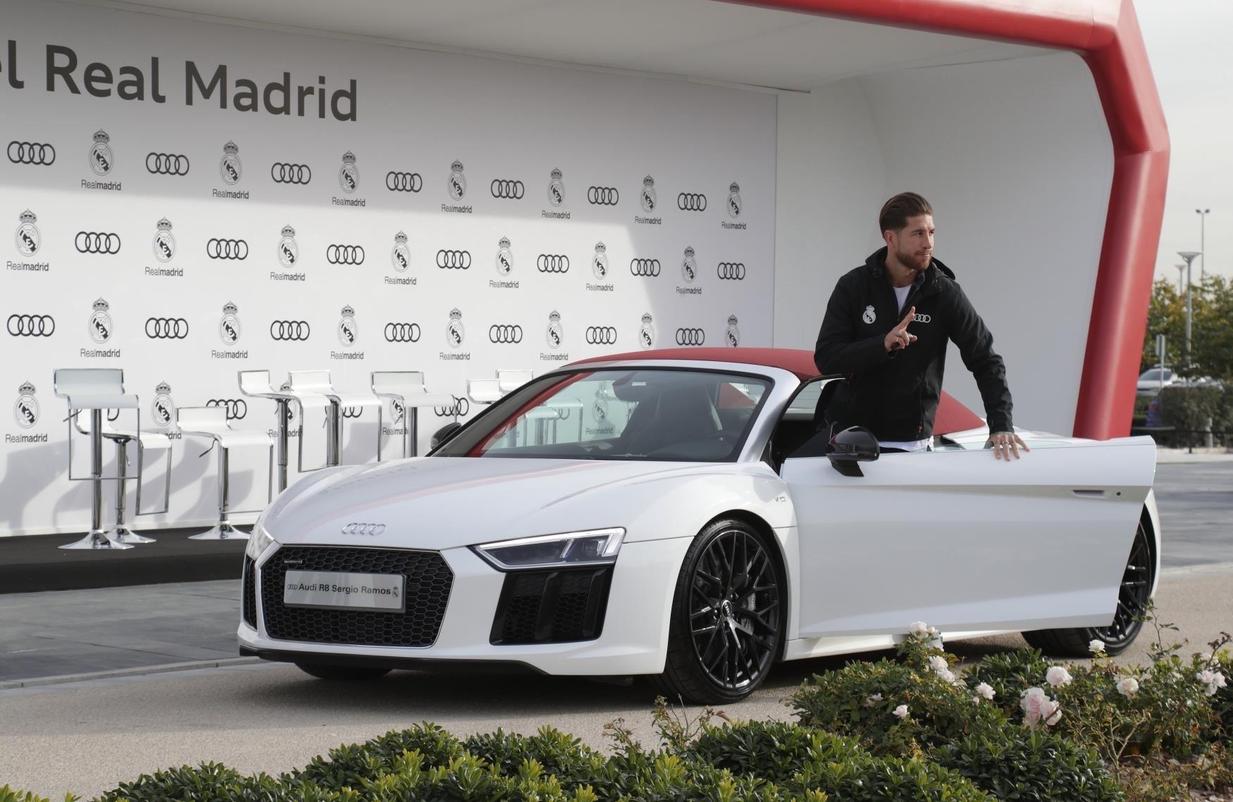 Sergio Ramos Audi