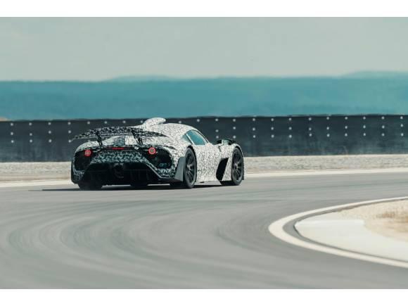Vídeo: primeras imágenes en circuito del Mercedes-AMG Project ONE