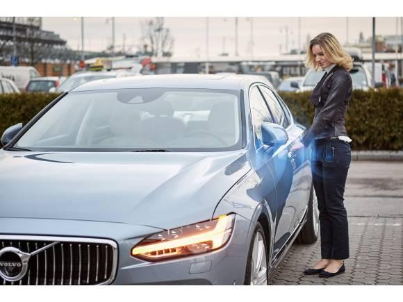 """¿Cómo funcionan """"los coches sin llave"""" de Volvo?"""