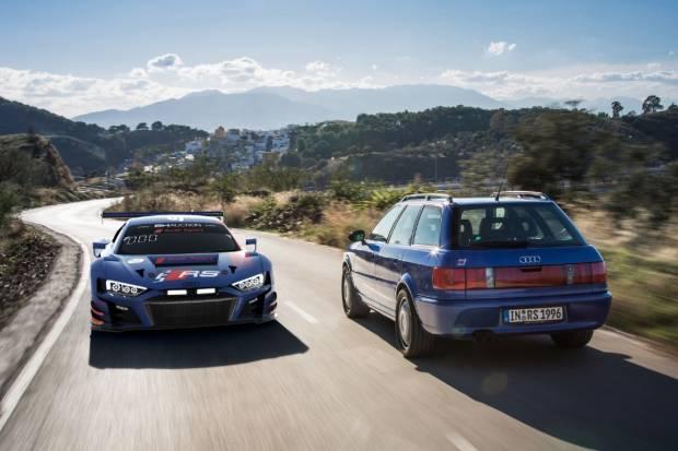 Radicales y Sostenibles: la gama RS de Audi cumple 25 años