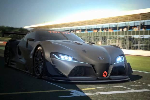 Toyota FT-1 Vision GT, otro prototipo para el Gran Turismo 6