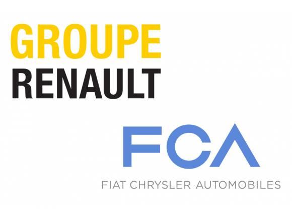 Renault estudia una posible fusión con FCA