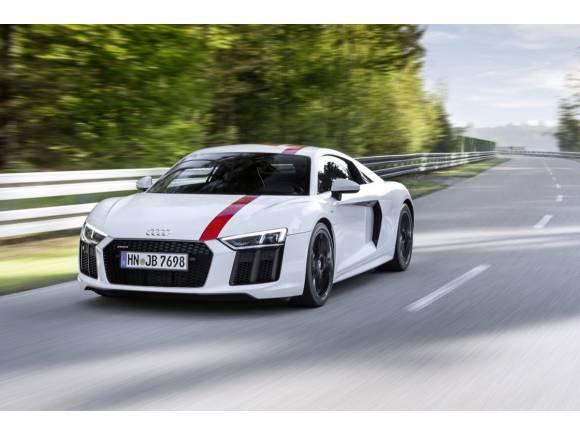 Audi R8 V10 RWS: el primer Audi con propulsión trasera