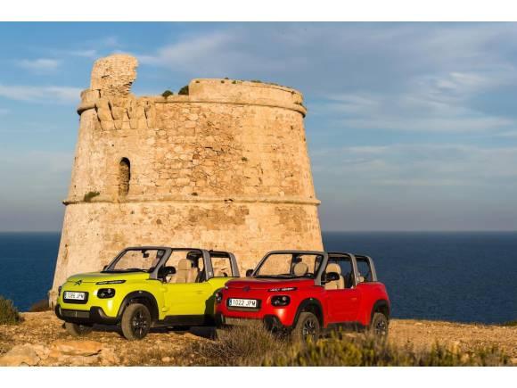 El Citroën E-Mehari es el nuevo coche oficial de Formentera
